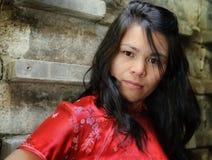 Mulher forte Fotos de Stock Royalty Free