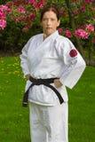 Mulher forte do guerreiro Fotografia de Stock