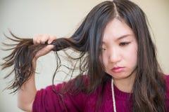 Mulher frustrante Foto de Stock Royalty Free