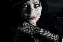 Mulher glamoroso Fotografia de Stock