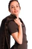 Mulher glamoroso dos anos 20. Imagens de Stock
