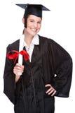 Mulher graduada Imagem de Stock Royalty Free
