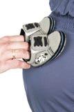 Mulher gravida Imagens de Stock