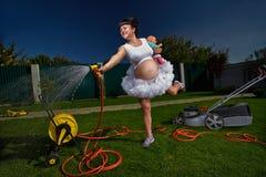 Mulher gravida Foto de Stock Royalty Free