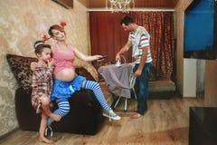 Mulher gravida Imagens de Stock Royalty Free