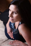 Mulher gravida bonita fotos de stock royalty free