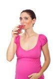 Mulher gravida saudável Imagem de Stock