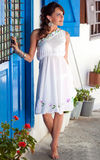 Mulher grega Fotos de Stock