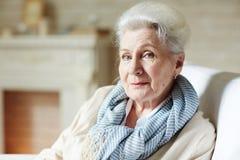 Mulher idosa à moda fotos de stock royalty free