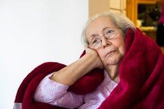 Mulher idosa imagem de stock royalty free