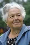 Mulher idosa imagem de stock