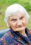 Mulher idosa feliz Foto de Stock