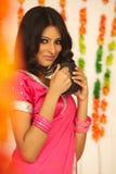 Mulher indiana Fotografia de Stock