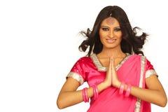 Mulher indiana Fotos de Stock