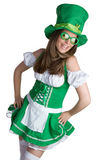 Mulher irlandesa fotografia de stock