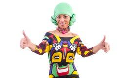 Mulher japonesa nova Fotos de Stock Royalty Free