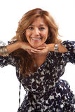 Mulher Latin bonita imagem de stock royalty free