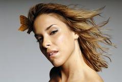 Mulher latino-americano bonita fotografia de stock