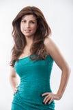 Mulher latino-americano bonita da forma Fotografia de Stock