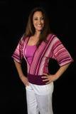Mulher latino-americano em seu 30s Imagem de Stock