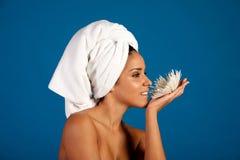 Mulher latino-americano lindo fotografia de stock