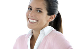 Mulher latino-americano nova bonita Fotos de Stock