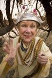 Mulher louca Imagem de Stock Royalty Free