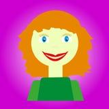 Mulher loura nova Imagem de Stock Royalty Free