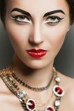 Mulher luxuosa Fotografia de Stock