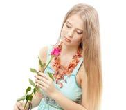 Mulher macia bonita Foto de Stock Royalty Free