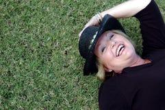 Mulher madura feliz Imagem de Stock Royalty Free