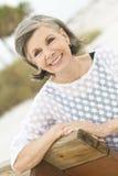 Mulher mais idosa amigável Imagem de Stock Royalty Free