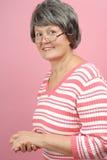 Mulher mais idosa ocasional Imagens de Stock