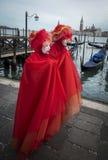 Mulher mascarada Foto de Stock Royalty Free