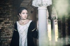 Mulher medieval Fotos de Stock