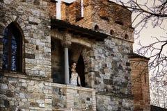 Mulher medieval Fotografia de Stock