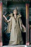 Mulher medieval Imagens de Stock