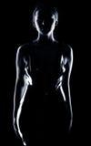 Mulher misteriosa Imagem de Stock Royalty Free