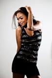 Mulher moderna à moda do malay Imagens de Stock Royalty Free