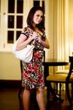 Mulher moderna asiática do malay imagens de stock royalty free