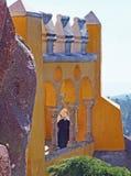 Mulher muçulmana, Sintra, Portugal foto de stock royalty free