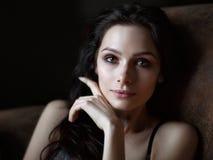 Mulher muito bonita e 'sexy' Imagens de Stock