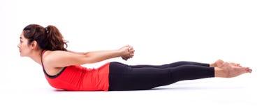 Ação de Pilates Fotografia de Stock