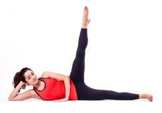 Ação de Pilates Imagens de Stock
