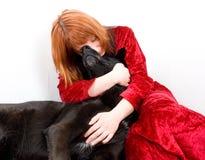 Mulher na depressão Fotografia de Stock Royalty Free