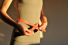 Mulher na dieta Imagem de Stock Royalty Free