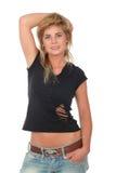 Mulher na moda nova imagens de stock