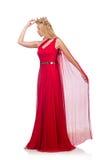 Mulher na roupa de forma Imagens de Stock Royalty Free