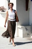 Mulher na rua Imagens de Stock Royalty Free