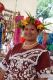 Mulher nativa foto de stock
